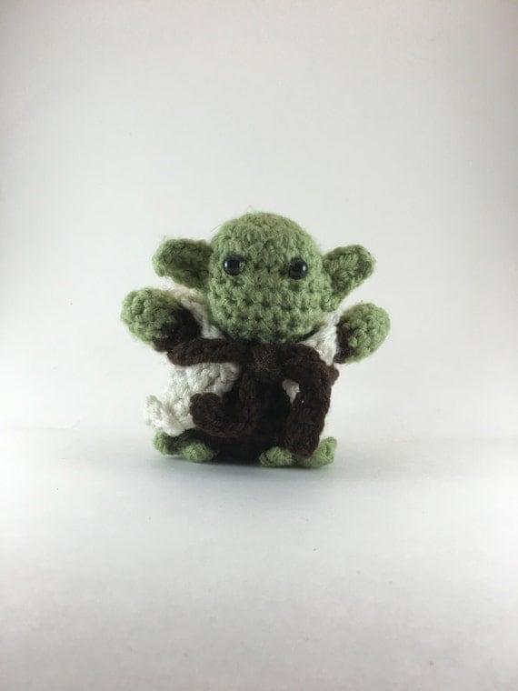 Amigurumi Yoda Patron : Crochet Amigurumi Yoda