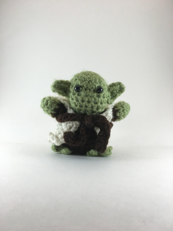Crochet Amigurumi Yoda
