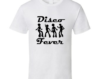 Disco Fever Disco Dancers T-shirt