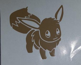Pokemon Eevee decal