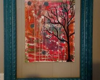 Colorful Tree (with Frame)