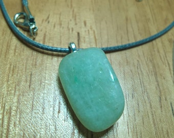 Worry-Free Green Aventurine Necklace