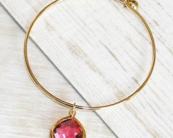 Crystal Bracelet - Rose
