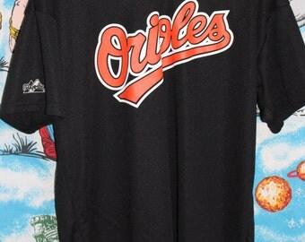 Vintage 80's Baltimore Orioles #17 Majestic Baseball Jersey Tshirt