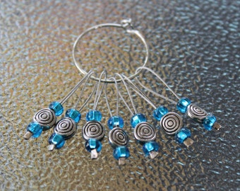 Snag Free Stitch Marker, Knit Stitch Markers, Knitting Accessories SMS654