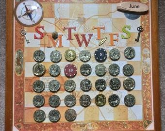 Pirates Treasure Calendar