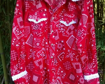 Queen of Country: Southern Folk Blouse