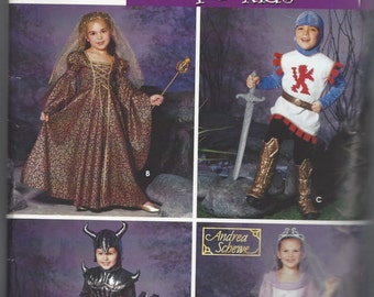 simplicity 0664 kids costume pattern size 3 4 5 6 7 - Halloween Costume Patterns For Kids