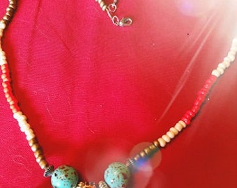 Celtic Beaded Necklace