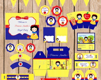Snow white Birthday Pack-Digital