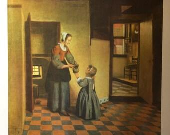 The Cellar Room by Peter de Hooch