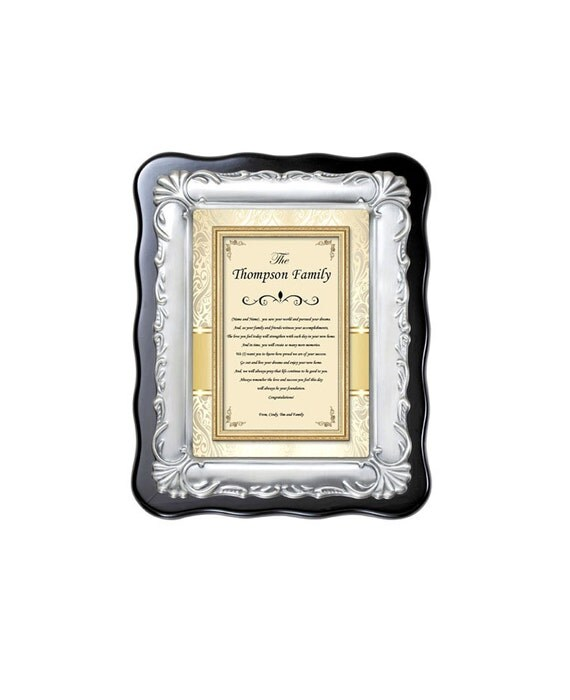 Traditional Personalized Housewarming Gift Plaque New