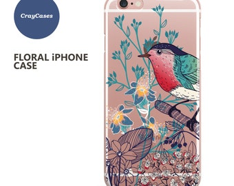 iPhone 7 Case, iPhone 6s Case Floral iPhone 7 Case Floral iPhone 6s Plus Case Floral iPhone 6 Case Floral iPhone 6+ Case (Shipped From UK)