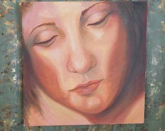 Serene - oil painting