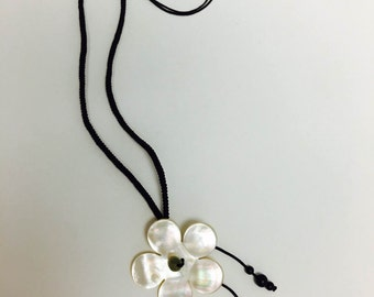 Beach Shell Necklace and Bracelet