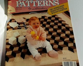 April 1992 Herrschners Crochet Patterns Magazine