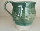 Clay Fish Mug