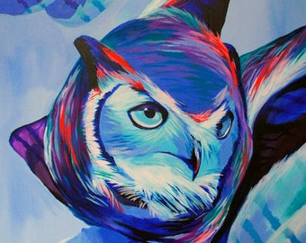 Owl - Giclee print