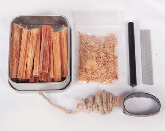 fatwood 100 natural firestarter sticks hand cut in the usa ferro rod ferrocerium flint fatwood - Fatwood