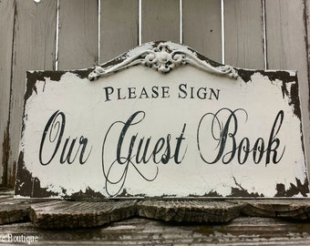 Wooden Guest Book Sign. Wedding Guest Book. Rustic Guest Book. Wedding Decor. Wedding Sign. Rustic Wedding. Shabby Chic Wedding.