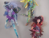 """FANTA, e-pattern for 12"""" Hanging  Fairy with Wire Armature"""