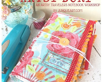 Artsy Dori™ - An Artsy Traveler's Notebook Online Workshop