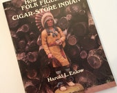 Wood Carving Book - How to Carve Folk Figures and a Cigar-Store Indian by  Harold L. Enlow 1979