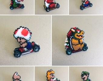 mario kart pin - choose your favorite character