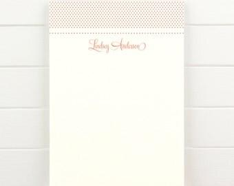 SWEETHEART Personalized Notepad - Teacher Custom Letterhead