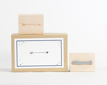 Arrow rubber Stamp