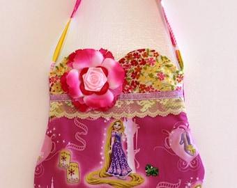 Rapunzel Purse, princess purse, toddler purse, girls purse, bag