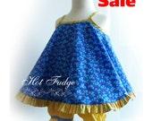 SALE - 50% OFF  Toddler Sundress & Pantaloons, Sweet Violets, Size 18-24 months