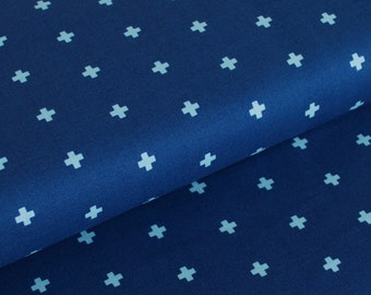 Wander Cross in Midnight by Joel Dewberry - fabric by the yard starting at a quarter yard