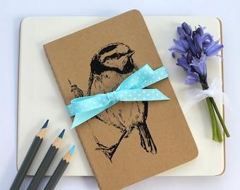 Blue Tit Bird Notebook Moleskine Notebook