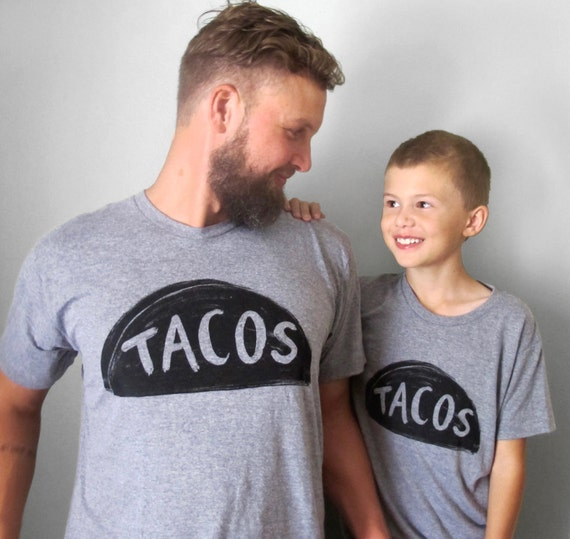 Father Son Matching Taco Tuesday Tshirts, fathes day, matching family shirts, gifts for dad from daughter son father daughter daddy and me