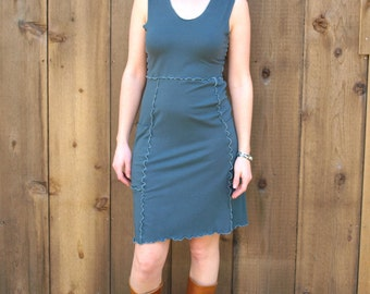 Sterling Pocket Dress ~ Bamboo & Organic Cotton ~ Made to Order