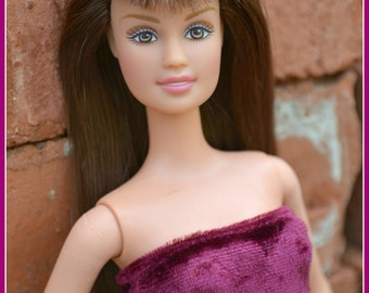 Ashes To Beauty Gem #2 Barbie Refurbished Re-purposed Teresa