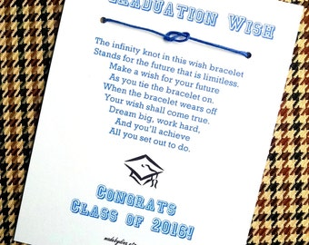 A Graduation Wish - Party Favor or Greeting Card Custom Made for You