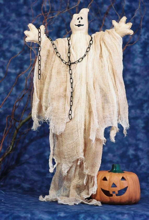 Mailed Cloth Doll Pattern Halloween Ghost