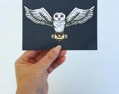 Hedwig - Harry Potter - Postcard