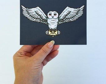 Hedwig - Harry Potter - Postcard