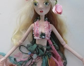 TWIG Elfin porcelain jointed puppet style handmade doll created in the USA