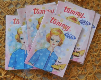 Vintage Tammy Booklet - Tammy Doll By Ideal - Fashion Doll Guide - ID Your Outfits - 22 Pages, Very Nice Condition - Toys, 1960s, Kitsch