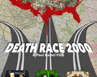 Death Race 2000 Original Poster