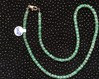 Veracity and White Topaz Necklace  N96