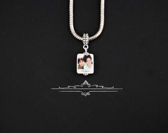 Instant Picture photo portrait European Style  Charm/pendant