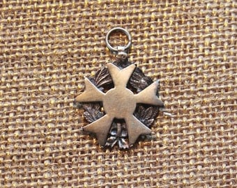 Silver Antique Medal, Charm