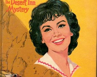1961 ANNETTE The Desert Inn Mystery Book Walt Disney Whitman Edition Girls Fiction Hardcover