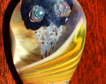Glass Egg Spirit Totem - Handblown