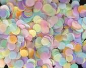 TISSUE PAPER CONFETTI / table decoration / party confetti / confetti toss / rainbow decorations / wedding decoration / balloon confetti